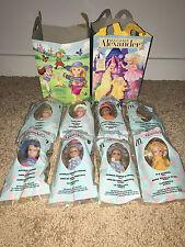 Lot 8 MADAME ALEXANDER McDonalds HAPPY MEAL Dolls 2003 Fairy Rapunzel Halloween