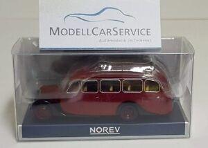 1947-1:87 #159928 Norev Citroen U23 Autocar Dark Red