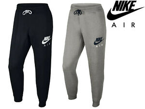 Men'S Nike Air Pantaloni sportivi Slim Tuta in Pile Sudore Formazione Palestra Jogging Bottoms