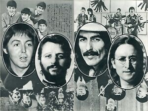 The BEATLES 1976 Japan Picture Clippings 3-Pages #TG/U   eBay