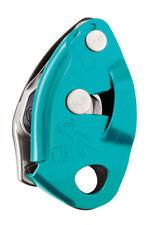 BELAY DEVICE ASSICURATORE DISCENSORE GRIGRI 2new Turquoise PETZL ALPINISMO