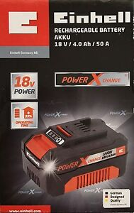 Einhell-puissance-X-Change-Piles-18V-4-0Ah-Li-Ion-Batterie-Rechargeables