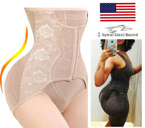 new high quality look for latest sale High Waist Tummy Control Girdle Panty Body Trainer Shaper Butt Lifter  Cincher US