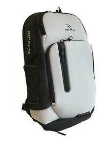 Rip-Curl-F-LIGHT-ULTRA-STACKA-Backpack-Bag-30L-New-BBPYD2-Grey