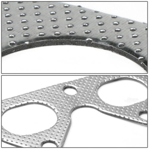 EXHAUST MANIFOLD HEADER GASKET COMPLETE SET FOR 92-01 PRELUDE H22A1 2.2L DOHC