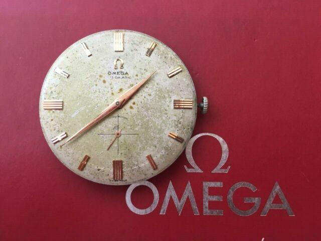 """Jumbo omega automatic dial 35.5mm 491 gauge 1955"""" """"vintage"""