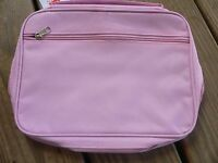 Bible Cover Pink Large Size Fully Lined With Handle Zipper Closure - Brand