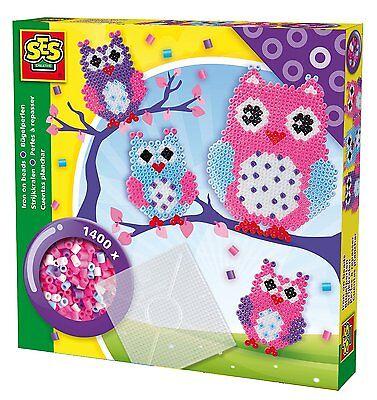 Noch Nicht VulgäR Nett Ses Creative 06124 Bügelperlenset Eule Neu Ovp Creativsets Spielzeug