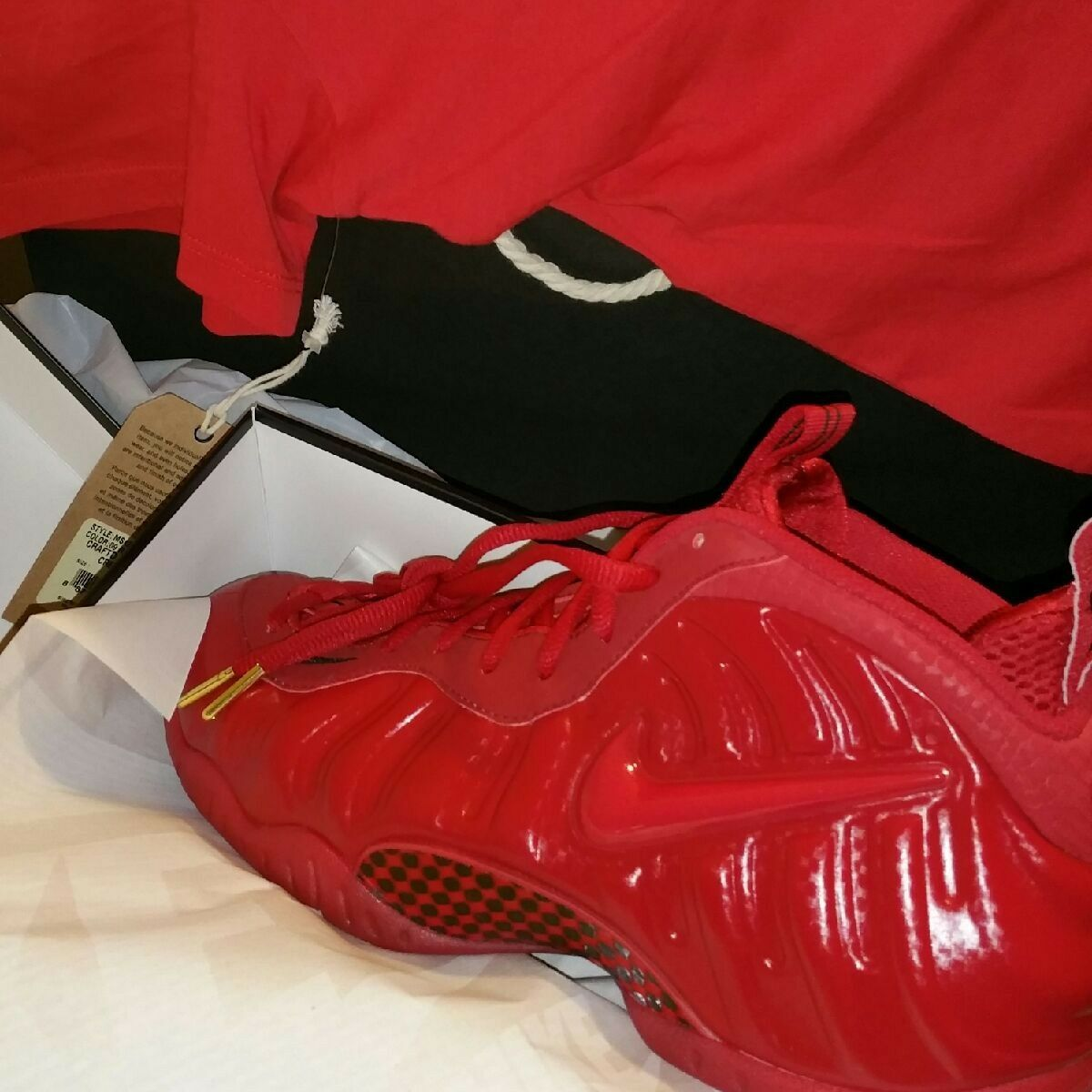 all red foamposites 12  Cheap and fashionable