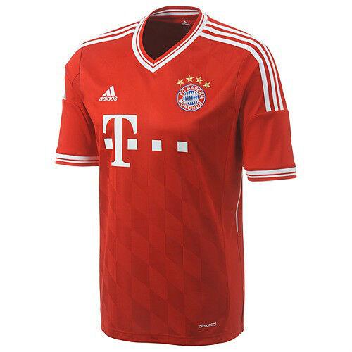 Munchen 2013-2014 Home Soccer Jersey Brand New Red adidas Bayern Munich