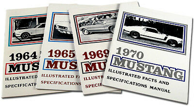 Mustang Exploded View Picture Manual Book Coupe Fastback Convertible 1967 1968
