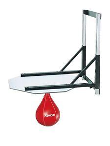 Kwon-Schlagbirnen-Speedball-Halterung-Hoehenverstellbar-Boxbirne-Boxen-Kickboxen