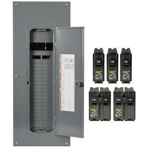 Square-D-200-Amp-40-Space-80-Circuit-Indoor-Main-Breaker-Panel-Box-Load-Center