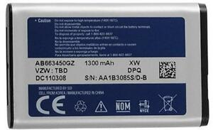 NEW-OEM-Original-Samsung-Battery-AB663450GZ-Convoy-SCH-U640-Convoy-II-2-SCH-U660