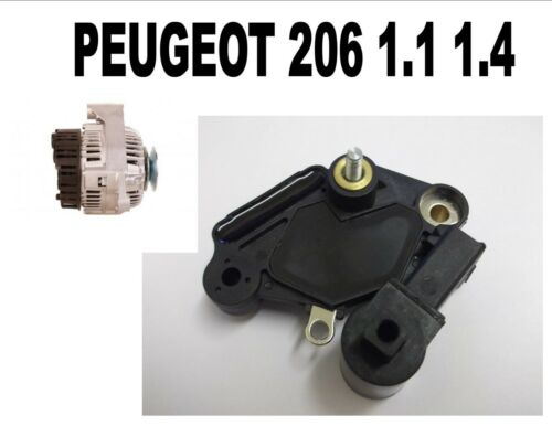 PEUGEOT 206 1.1 1.4 1998 1999-2015 NEW ALTERNATOR REGULATOR