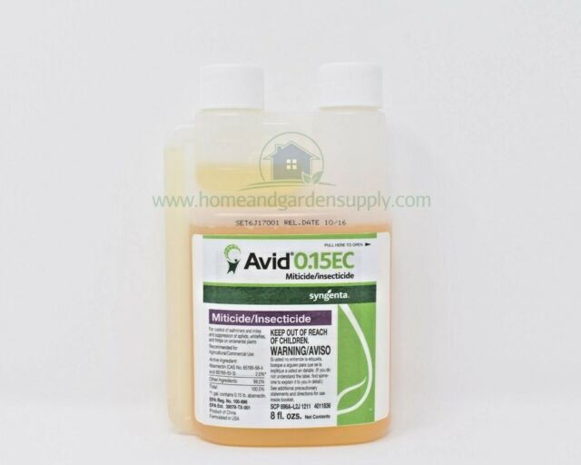 Avid 8oz 0 15 E Miticide Spider Mites Thrips Aphids Syngenta