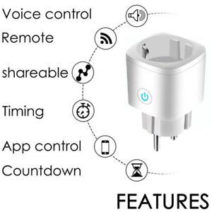1-5x-Smart-WiFi-Socket-EU-Plug-16A-Power-Monitor-Tuya-Outlet-Alexa-Google-Home