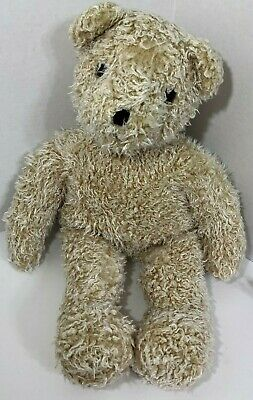 1992 4th Gen Ty Baby Curly Gold Teddy Bear Classic Plush VINTAGE