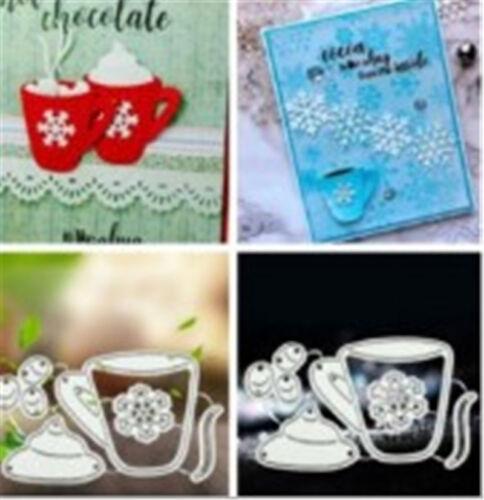 Stanzschablone Kaffee Weihnachten Hochzeit Oster Karneval Geburtstag Karte Album