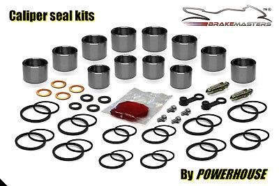 2001 to 2005 Suzuki GSF1200 Bandit Front Brake Caliper Seals Repair Kit x 2
