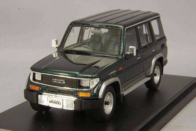 1/43 Hi-Story Toyota LAND CRUISER 70 PRADO SX Wide 1993 verde HS163GR
