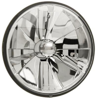 IPCW CWC-7013 5-3//4 Diamond-Cut Round Conversion Headlight with H4 Bulb