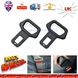 Universal Seat Belt Buckles Car Styling Car Seat Safety Belt Buckle Clip Protective Lock Belt 2 PCS