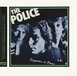 POLICE-REGGATTA-DE-BLANC-JAPAN-MINI-LP-PLATINUM-SHM-CD