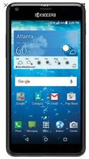 """New Kyocera Hydro View C6742 Cricket Unlocked Waterproof GSM 5""""qHD 8Gb Android"""