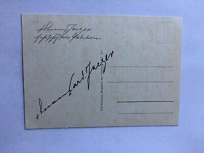 Autogramme & Autographen Politik, Adel & Militär Gelernt Autogramm Lorenz Kardinal Jaeger-verstorben 1975-ex-erzbischof Paderborn-22/19