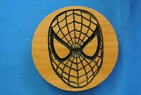 Spiderman Magnet Cherry Wood Refrigerator Magnet American Made/ Homemade