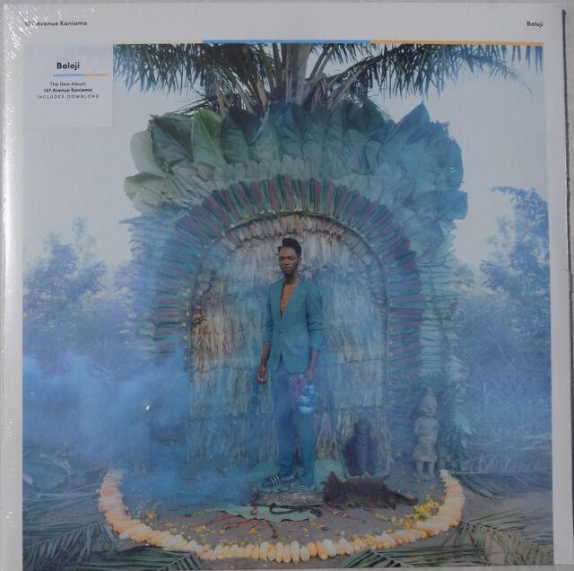 BALOJI LP x 2 137 Avenue Kaniama 14 Track Gatefold Sleeve + Promo Sht NEW SEALED