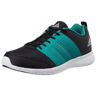 Adidas Brand Mens Adispree Black Green Running Sports Shoes