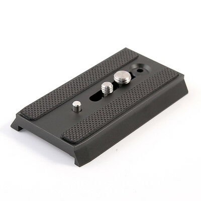 """501PL Sliding QR Plate 1/4""""-20 3/8"""" Screw for Manfrotto 501 503 NG Heads Tripod"""