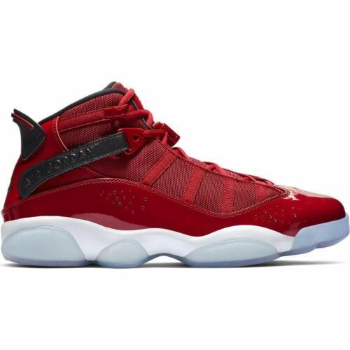 322992 601 Jordan 6 Rings Gym Red//Black-White