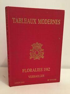 Lavagna Floralies Moderno Versailles Me TG. Catalogue Vendita 2Juin 1982