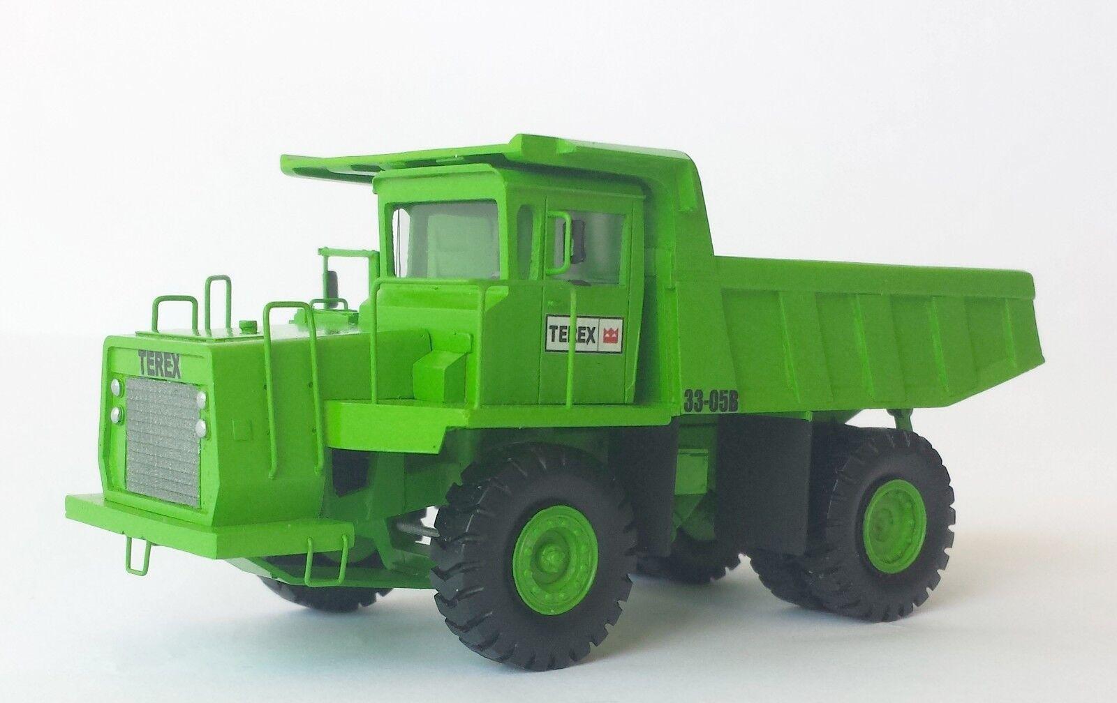 1 87 Terex 33-05B 30 T Camion Benne-HANDBUILT Résine Modèle