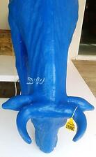 DEKO Kuh lebensgroß Mallorca Design fressend alle Farben aus GFK  Original D&W