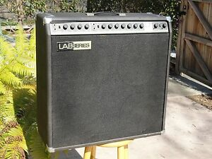 lab series l7 guitar amp designed by robert moog ebay. Black Bedroom Furniture Sets. Home Design Ideas