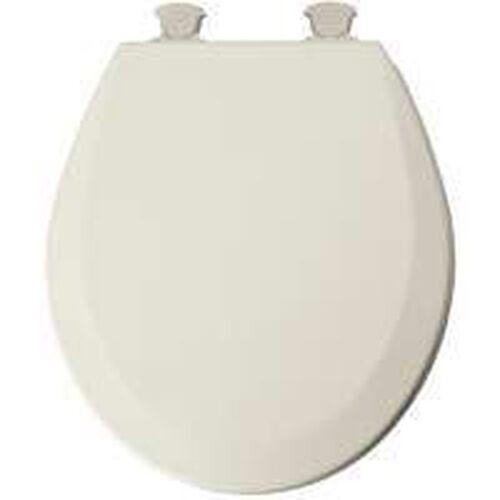 NEW BEMIS 41 EC 346//46EC QUALITY ROUND BISCUIT WOOD TOILET CLOSET SEAT 3481140
