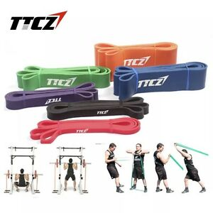 Set-of-5-POWER-Heavy-Duty-RESISTANCE-BAND-Gym-Yoga-LOOP-Exercise-Fitness-Workout