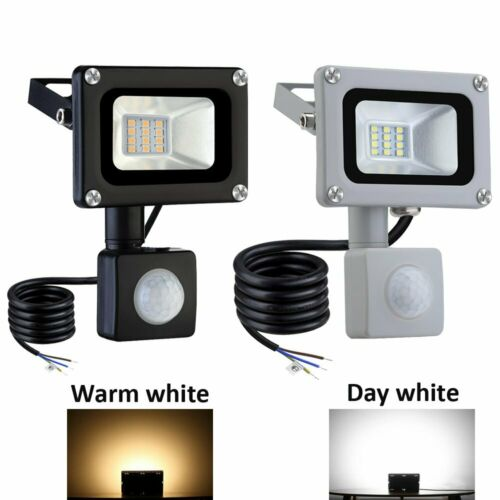 LED Floodlight 10//20//30//50//100 PIR Sensor Motion Outdoor Security Spotlight