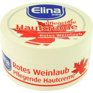 1,99€/100 Ml Pflegende Hautcreme Rotes Weinlaub 150 Ml Vitalisiert Müde Beine! Beauty & Gesundheit