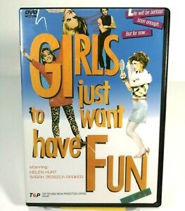 Girls-Just-Want-To-Have-Fun-DVD-1985-ALL-Region-Top-Ten-New-Media-TDVD-0011