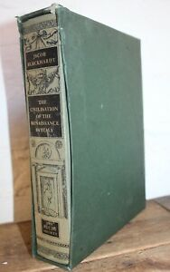FOLIO-SOCIETY-THE-CIVILSATION-OF-THE-RENAISSANCE-IN-ITALY-Jacob-Burckhardt