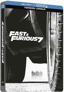 FAST-AND-FURIOUS-7-VERSION-LONGUE-STEELBOOK-BLU-RAY-NEUF-SOUS-CELLOPHANE