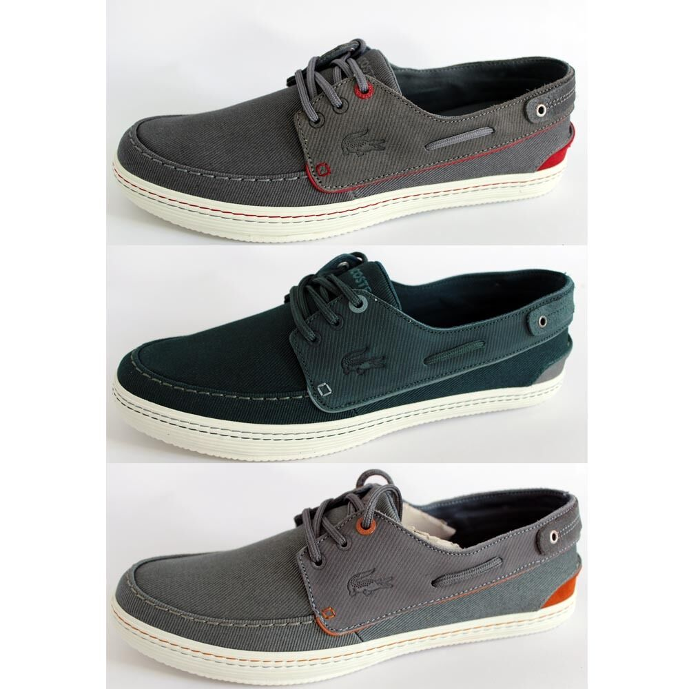 Lacoste Sumac 10 Ap Srm Dk shoes Boatschuhe Trainers Men's Canvas