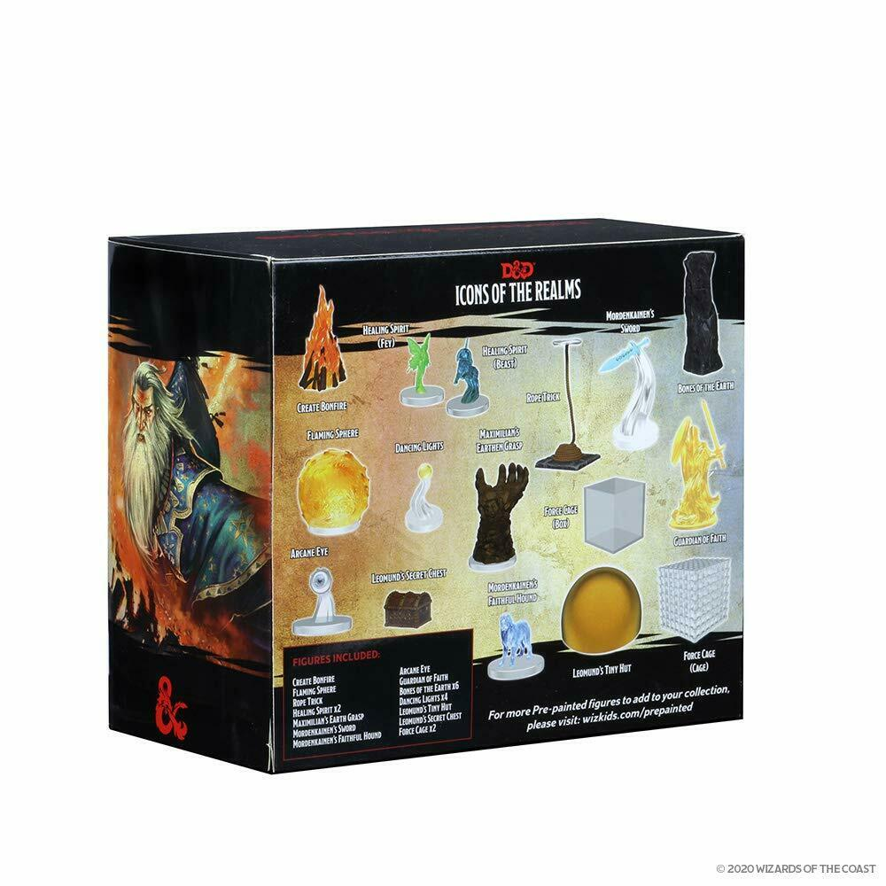 WizKids D/&d Icons of The Realms Spell Effects Mighty Conjurations for sale online