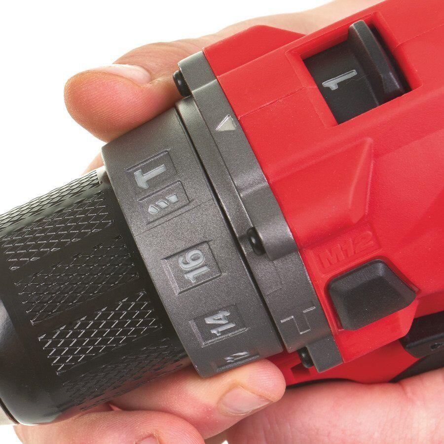 Milwaukee FUEL Akku-Kompakt-Schlagbohrschrauber M12 FPD-602X 12 Volt Volt Volt 6.0Ah 82008e
