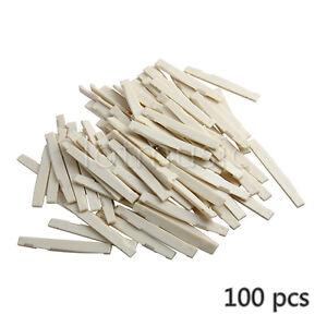 100-Pcs-Ivory-Plastics-Acoustic-Guitar-Saddle-Compensated-72mm-x-2-9-x-9mm